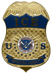 Immigration and Customs Enforcement Special Agent Badge. Source. ICE.gov