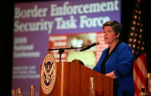 Secretary of Homeland Security Janet Napolitano announces a Border Security task force.