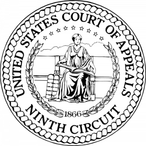 Seal of the United States Court of Appeals for the Ninth Circuit. U.S. Government Public Domain