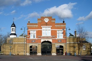 Woolwich Royal Arsenal Gatehouse Author: Fin Fahey