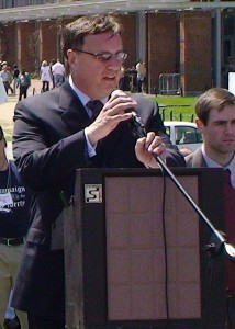 Steve Lonegan at Philadelphia Tea Party rally. June 3, 2009