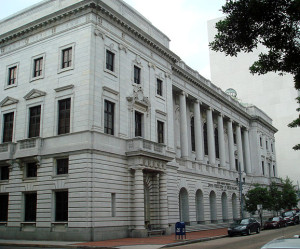 The John Minor Wisdom U.S. Courthouse, home of the United States Court of Appeals for the Fifth Circuit, New Orleans, Louisiana. May 31, 2007 Author: Bobak Ha'Eri