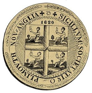 The Seal of Plymouth County