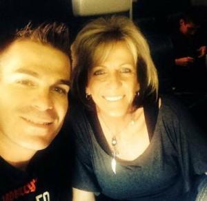 Mary Ann Mendoza and her son, Sgt. Brandon Mendoza