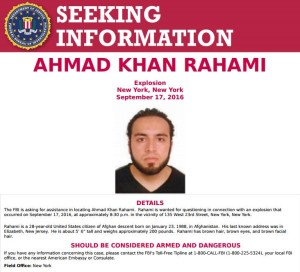 Ahmad Khan Rahami (Captured)