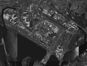 Aerial image of John F. Kennedy International Airport in Queens, New York, United States. April 8, 1994 Author: United States Geological Survey